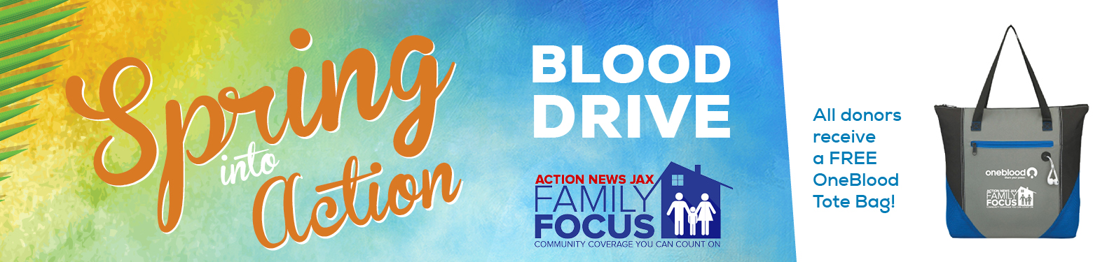 Spring Into Action Blood Drive