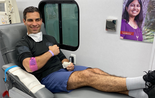 Miami Mayor Francis Suarez Becomes First COVID-19 Convalescent Plasma Donor in Florida